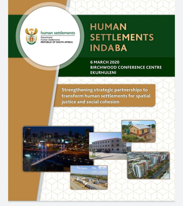 Comment on the 2020 Human Settlements Indaba Declaration