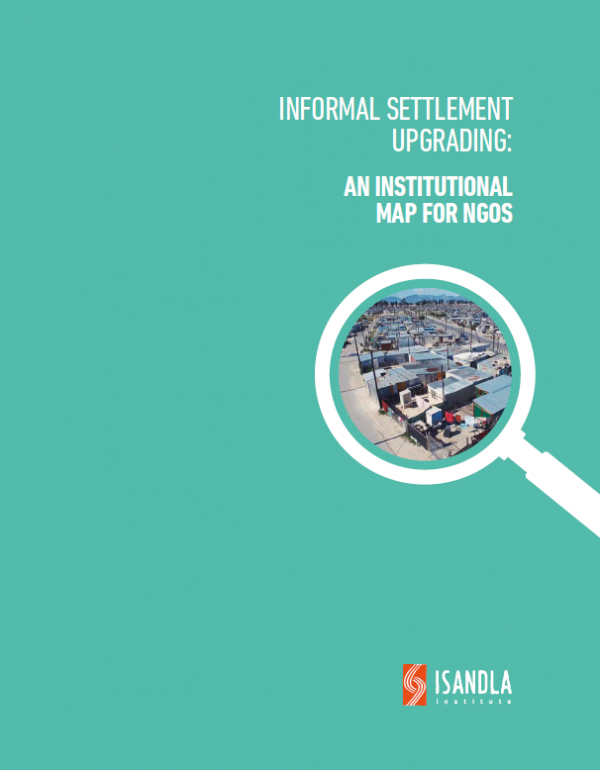 New Resource: An Informal Settlement Upgrading Institutional Map for NGOs
